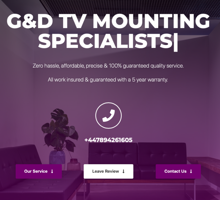 G&D TV Mounting Specialists