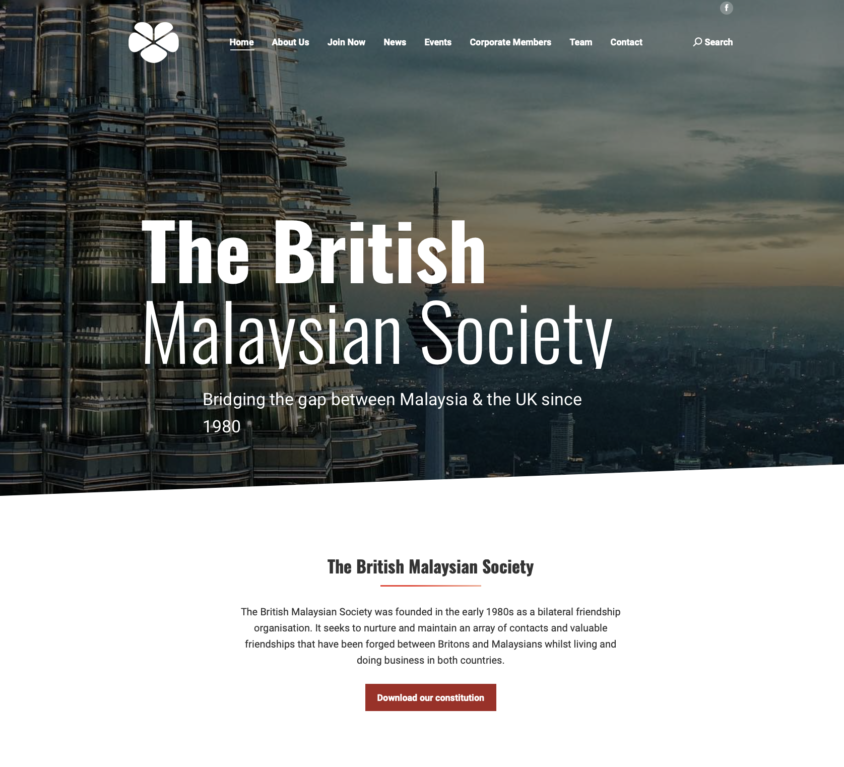 The British Malaysian Society, Kuala Lumpur, Malaysia