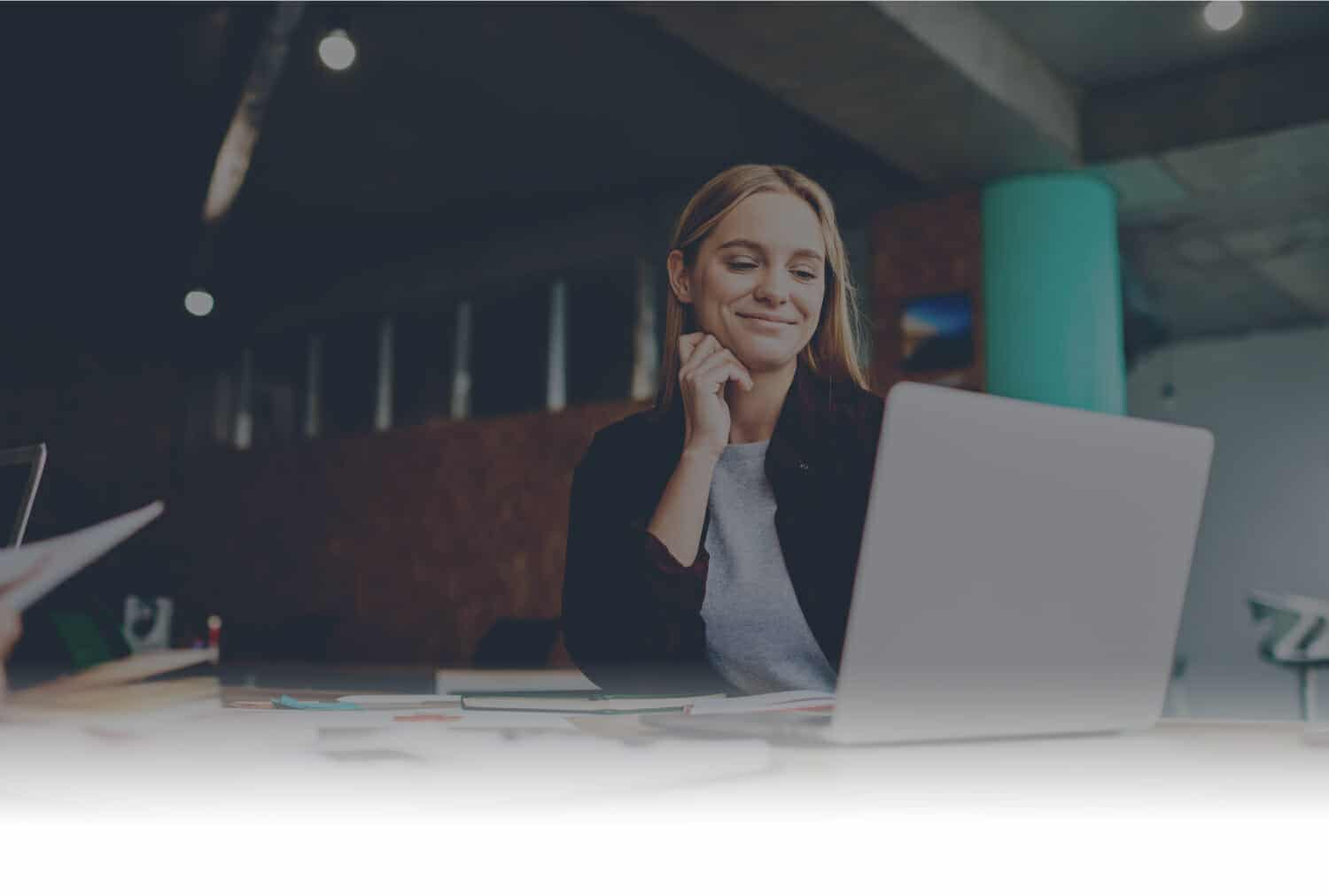 Header Image-Women-Sitting-at-Computer-at-Web-Design-Agency-in-Cheshire